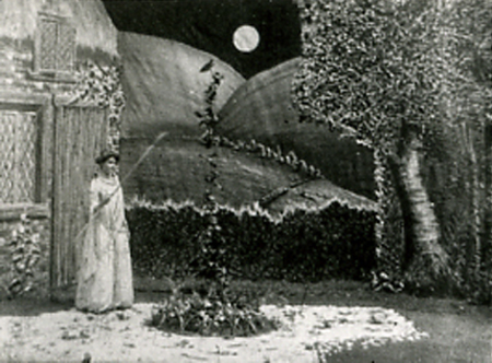 JACK AND THE BEANSTALK, Edison, 1902. Un film ostensiblement théâtral