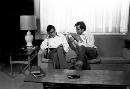 Jacques Leduc discute avec Jean-Pierre Saulnier: ALBÉDO (1983)