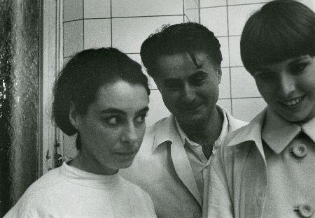 DE MÈRE EN FILLE d'Anne Claire Poirier (1968) : à gauche, la réalisatrice