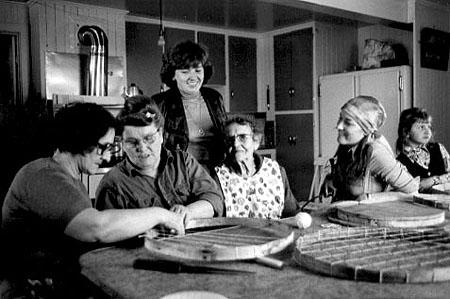 LES OISEAUX BLANCS DE L'ÎLE D'ORLÉANS de Diane Létourneau (1977)