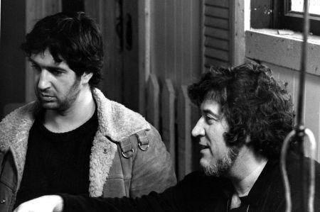 André Melançon et Clément Perron, le réalisateur de TAUREAU (1973)