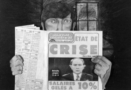 ENTRE CHIENS ET LOUP de Pierre Hébert (1978)