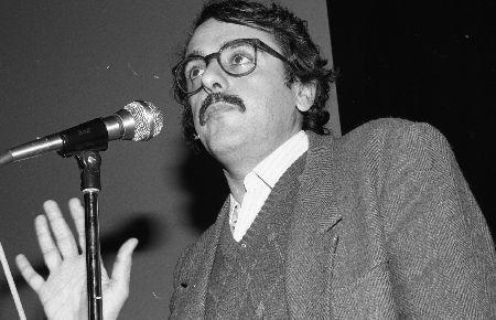 Alain Bergala présentant FAUX-FUYANTS de lui-même et Jean-Pierre Limosin