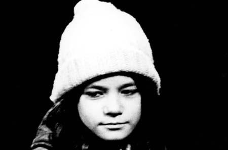 Lucie Miville (Léopoldine Dieumegarde) : AU CLAIR DE LA LUNE Photographie P. Beaudin, J. Caron