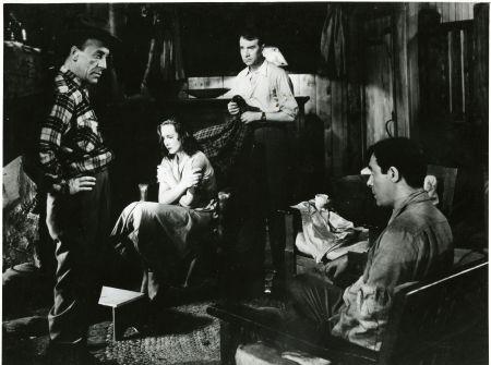 Au chalet dans le bois : Leguet, Roc, Dary, Miller.