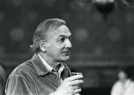 Pierre Perrault en l'hôtel de la ville de La Rochelle, Colloque mars 1982