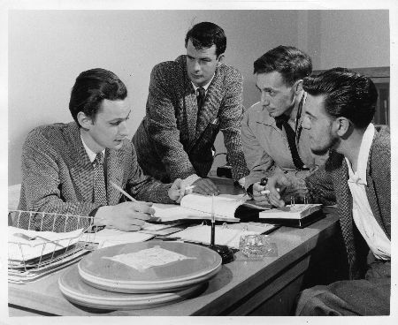 1958 - Les producteurs de l'équipe française