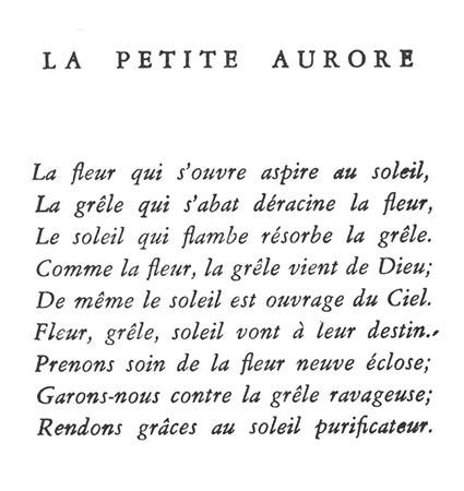 Le poème dédicace; une publication de l'ACCI