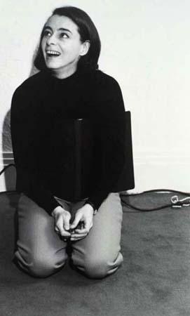 Anne Claire Poirier pendant le tournage de DE MÈRE EN FILLE