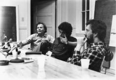 Table ronde avec Jean Chabot, Marc Daigle, François dupuis, Bernard Lalonde, Louise Surprenant, Paul Tana. Coll. Cinémathèque québécoise