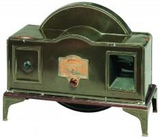 Téléviseur mécanique Televisor Baird, Grande-Bretagne, 1930.© Cinémathèque québécoise/Collection Moses Znaimer