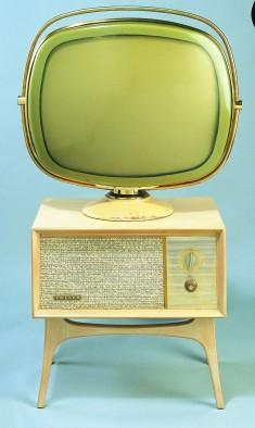 Téléviseur Predicta G4710 Tandem Console 21 Philco, États-Unis, 1958./© Cinémathèque québécoise/Collection Moses Znaimer
