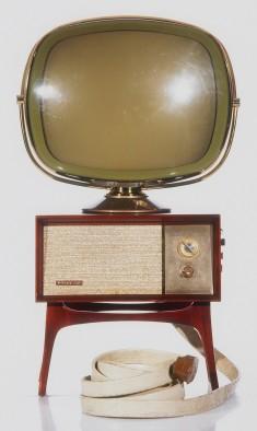 Téléviseur Predicta G4710 Tandem Console 21 Philco, États-Unis, 1958. © Cinémathèque québécoise/Collection Moses Znaimer
