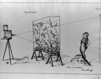 Croquis Pour Le Film L A SIRNE 1904 De Georges Melies