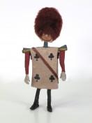 Lou Bunin, Alice in Wonderland, 1949 Dimension de l'original: 25 cm × 11,5 cm × 5 cm Matériaux: caoutchouc, peau (cuir) et peinture Coll. Cinémathèque québécoise - 1993.0050.OB.01