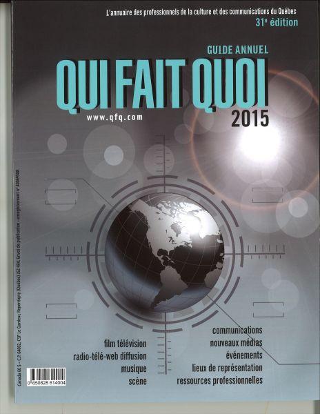 Janvier Fevrier 2015 La Cinematheque Quebecoise