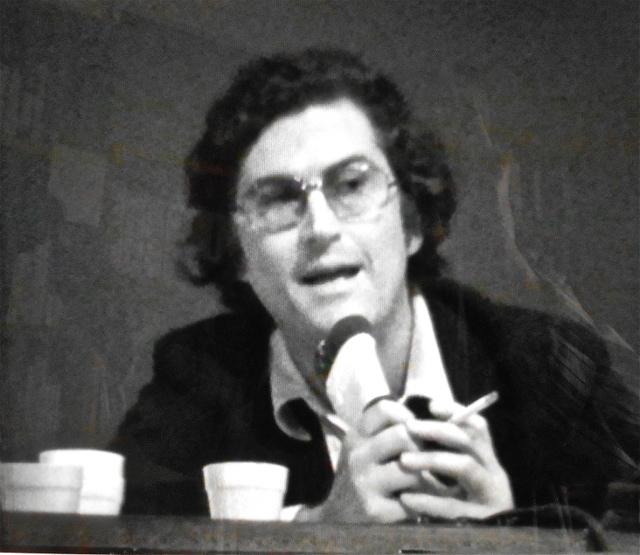 Fernando Solanas lors des rencontres de Montréal, 1974