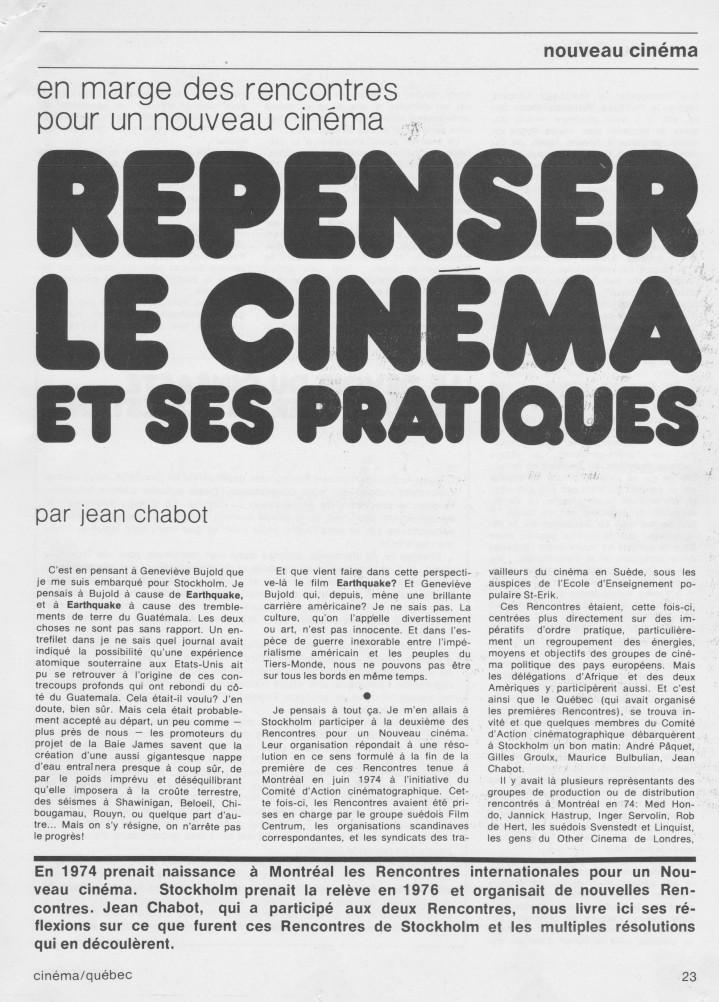 Cinéma-Québec_Stockholm_Jean Chabot_1