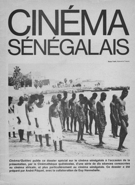 Cinéma sénégalais