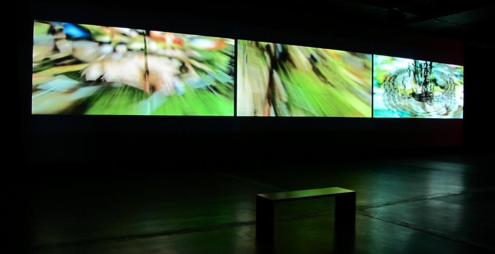 Installation Danse Macabre (Boris Labbé), 2013. Coll. Cinémathèque québécoise. 2016.0162.PH.05