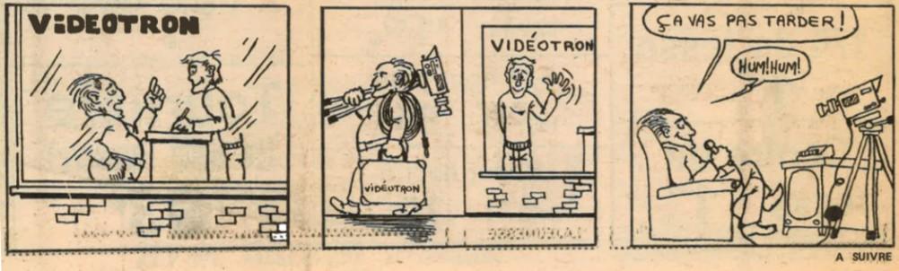 """<strong><em>""""À Vidéotron, on fait le point""""</em></strong>, in <em><strong>L'Écho du nord</strong></em>, 29 janvier 1975 ; Collections Cinémathèque québécoise : fonds vidéographe ; 2016.0001.01.0035.FD"""